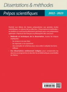 L'enfance en 22 dissertations. Épreuve de français/philosophie. Prépas scientifiques