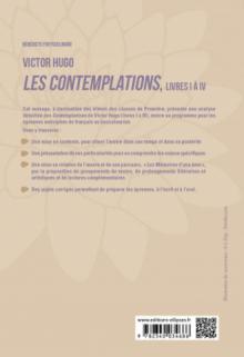 """Français, Première. L'œuvre et son parcours : Victor Hugo, Les Contemplations, livres I à IV, parcours """"Les Mémoires d'une âme"""""""