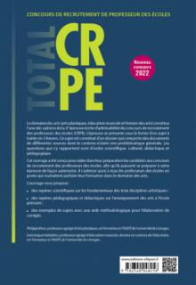 Réussir l'épreuve écrite d'arts - CRPE - Nouveau concours 2022