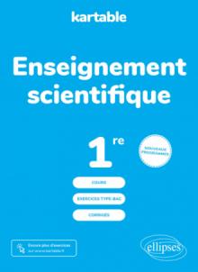 Enseignement scientifique - Première