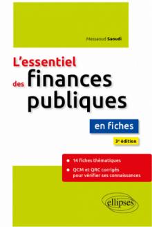 L'essentiel des finances publiques en fiches - 3e édition