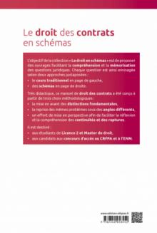 Le droit des contrats en schémas - 3e édition