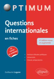 Questions internationales en fiches - 4e édition