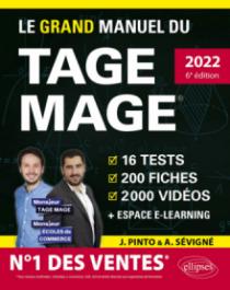 Le Grand Manuel du TAGE MAGE – N°1 DES VENTES – Édition 2022 - 6e édition