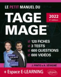 Le Petit Manuel du TAGE MAGE – 3 tests blancs + 120 fiches de cours + 600 questions + 600 vidéos