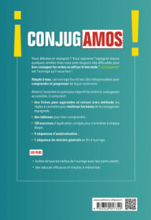 ¡Conjugamos! Conjugaison espagnole progressive avec fiches et exercices corrigés (A1-A2-B1)