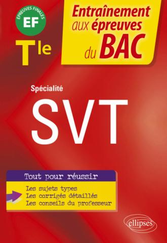 Spécialité SVT - Terminale - EF épreuves finales Bac