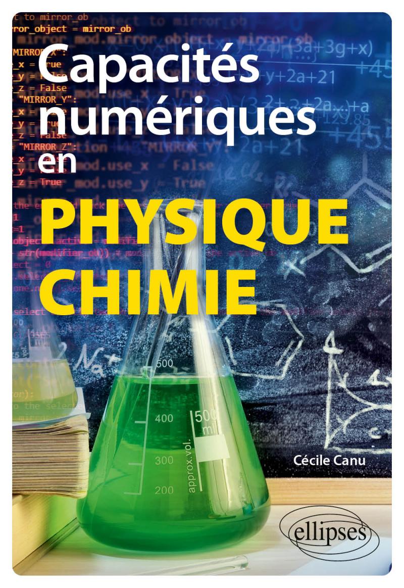 Capacités numériques en physique-chimie
