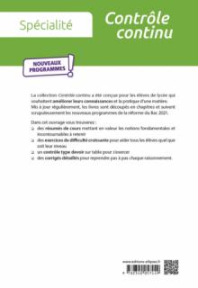 Spécialité Biochimie-biologie - Première STL