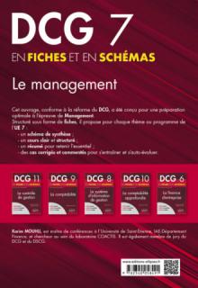 DCG 7 - Le management en fiches et en schémas