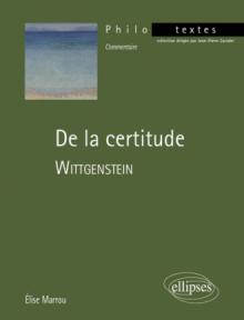 Wittgenstein, De la certitude