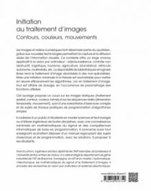 Initiation au traitement d'images - Contours, couleurs, mouvements - Cours, exercices et TP corrigés
