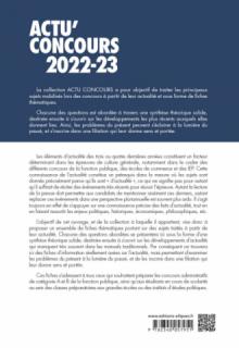 Culture Générale - concours 2022-2023