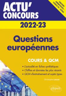 Questions européennes 2022-2023 - Cours et QCM