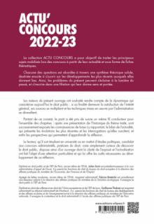 Droit public 2022-2023 - Cours et QCM