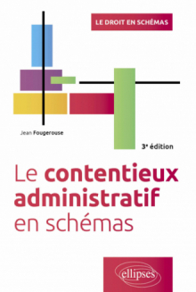 Le contentieux administratif en schémas - 3e édition