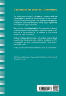 L'essentiel du droit de l'urbanisme - 4e édition