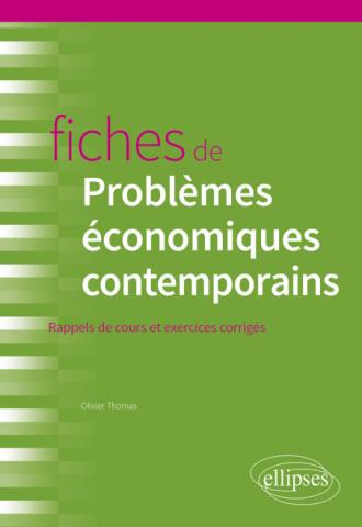 Fiches de Problèmes économiques contemporains