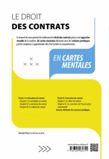 Le droit des contrats en cartes mentales