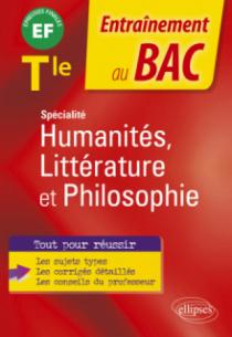 Spécialité Humanités, Littérature et Philosophie - Terminale