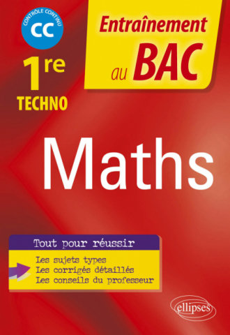 Mathématiques - Première technologique