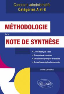 Méthodologie de la note de synthèse