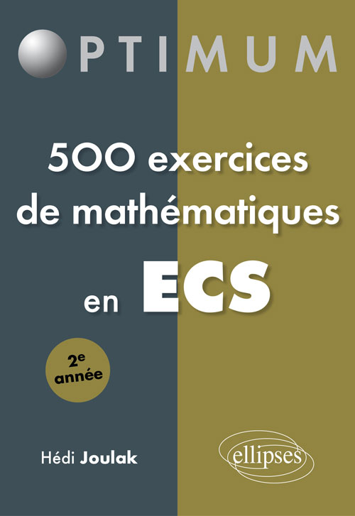 500 exercices en ECS - 2e ann�e