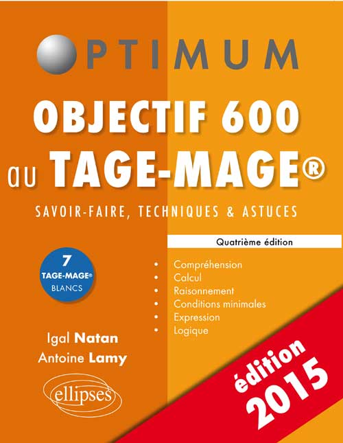 Objectif 600 au Tage-Mage - 4e �dition