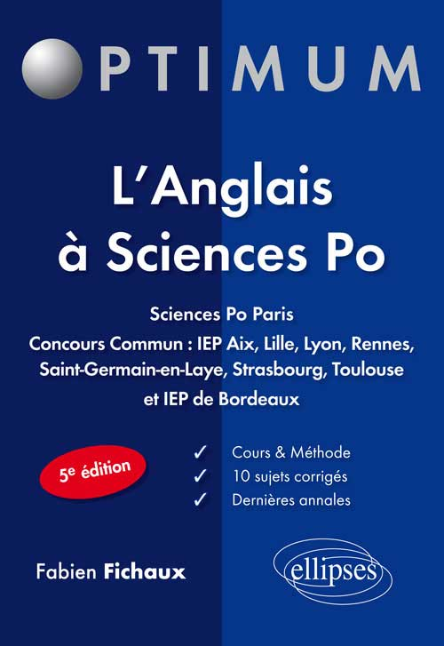 L�anglais � Sciences Po - 5e �dition