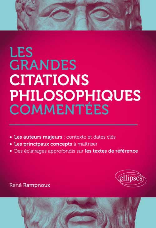 Les grandes citations philosophiques commentées - LETTRES / SCIENCES ...