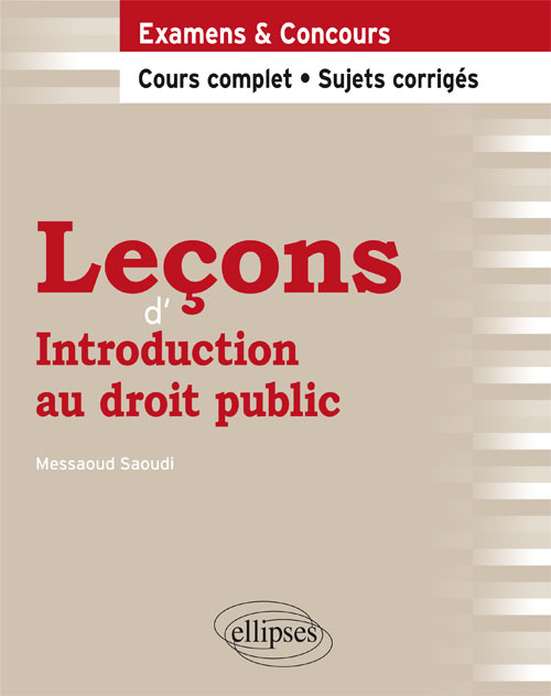 Le�ons d�Introduction au droit public