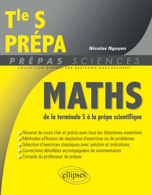Math�matiques de la Terminale S � la pr�pa scientifique
