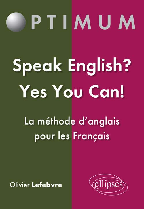 Speak English? Yes You Can!