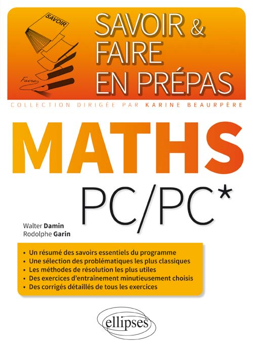 Maths PC/PC*