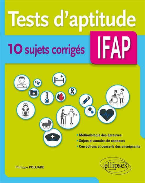 Tests d'aptitudes AS/AP – 10 sujets corrigés