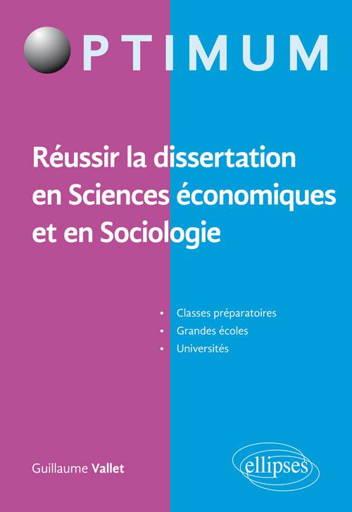 Comment reussir une dissertation en economie