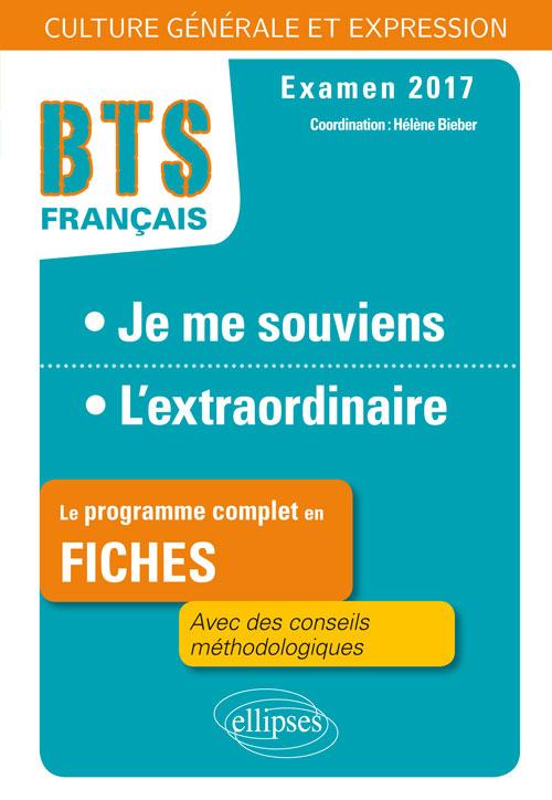Bts Francais Culture Generale Et Expression 1 Je Me