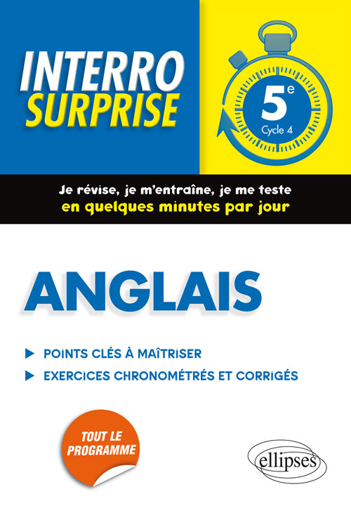 Anglais - 5e - Cycle 4