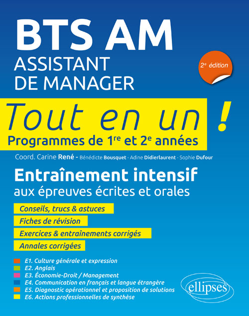 BTS AM (Assistant de manager) - 2e édition