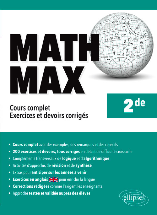 Math Max - Seconde