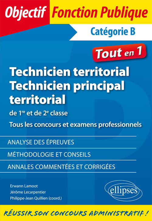 f8be00afdb8 Technicien territorial et technicien principal de 1re et de 2e classe. Tous  les concours et