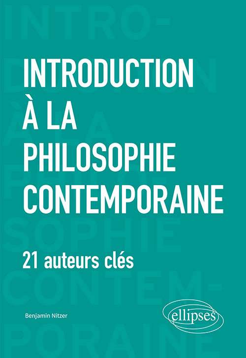 Introduction à la philosophie contemporaine