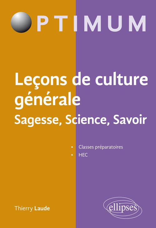 Culture générale a savoir