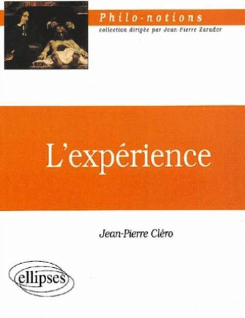 L'exp�rience