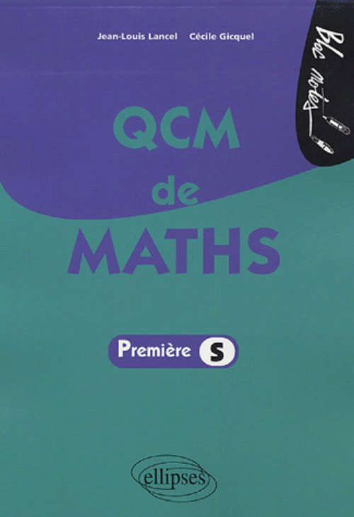 QCM de maths - Premi�re S
