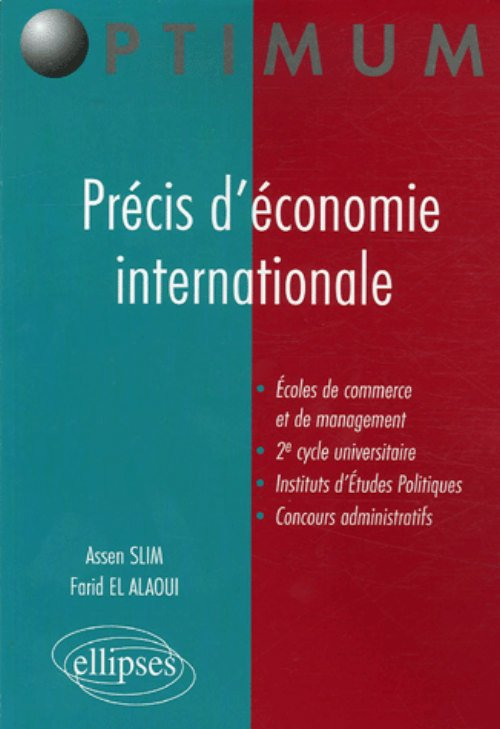 Pr�cis d'�conomie internationale