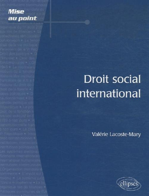 Droit social international