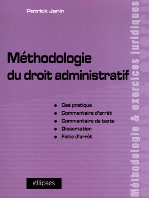 Methodologie Du Droit Administratif Cas Pratique Commentaire D