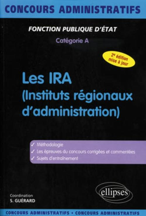 IRA - cat�gorie A - nouvelle �dition