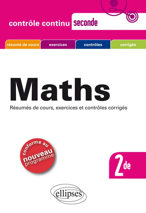 Math�matique Seconde - Nouveau programme 2010